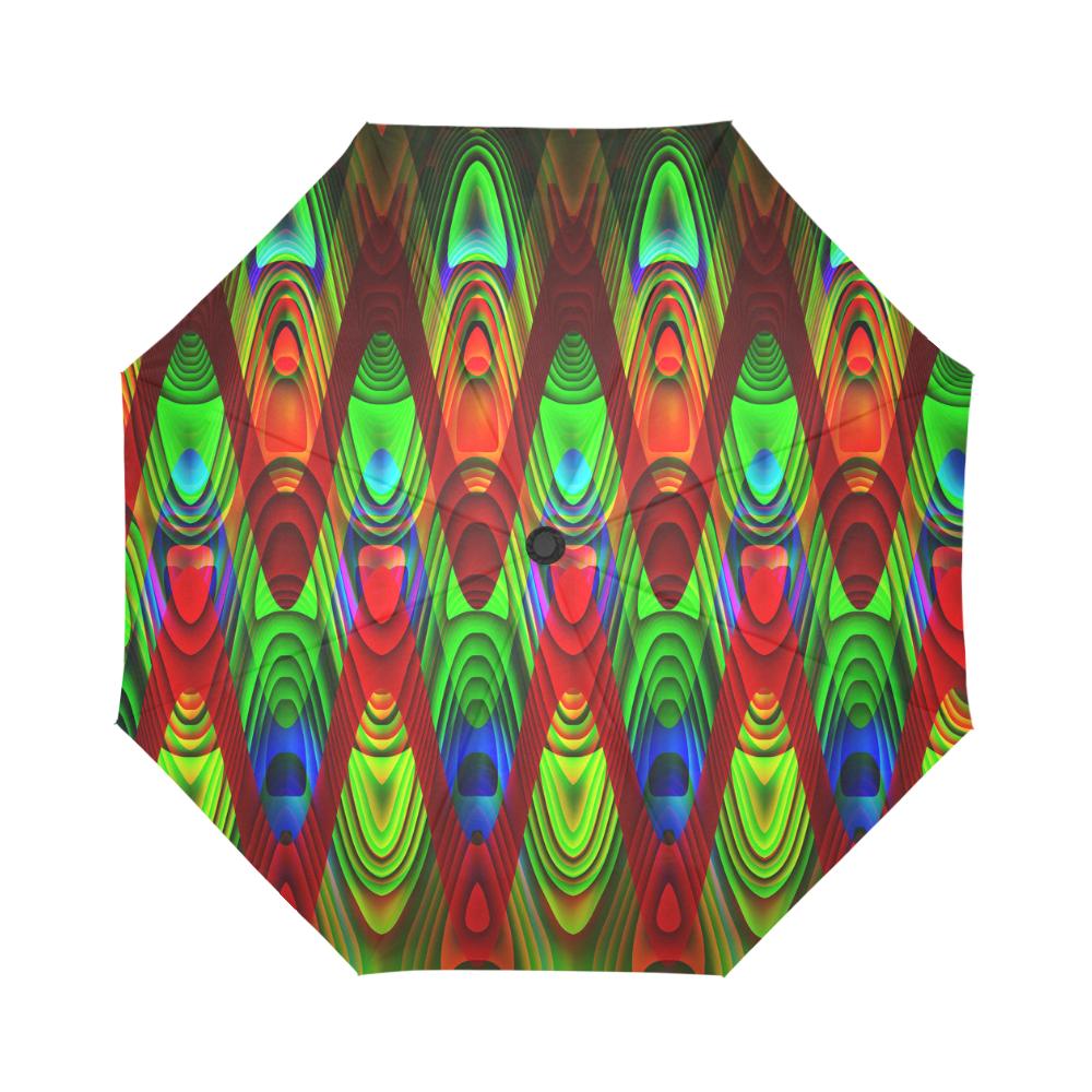 2D Wave #1B - Jera Nour Auto-Foldable Umbrella (Model U04)