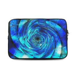 Galaxy Wormhole Spiral 3D - Jera Nour Custom Sleeve for Laptop 17""