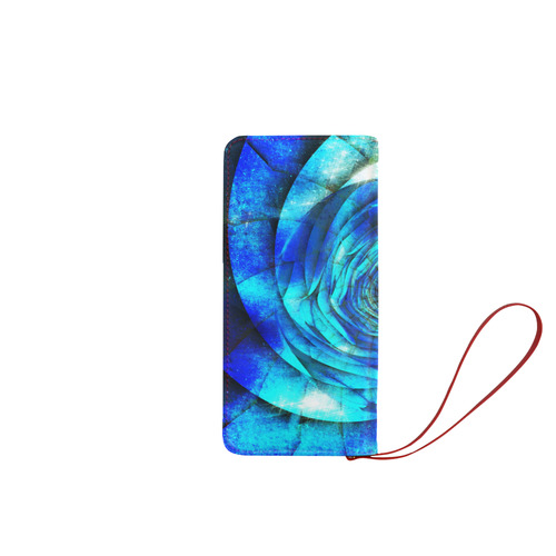 Galaxy Wormhole Spiral 3D - Jera Nour Women's Clutch Wallet (Model 1637)
