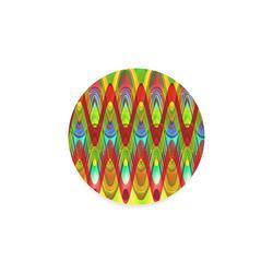 2D Wave #1A - Jera Nour Round Coaster