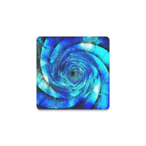 Galaxy Wormhole Spiral 3D - Jera Nour Square Coaster