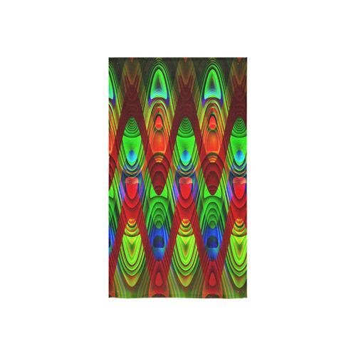 "2D Wave #1B - Jera Nour Custom Towel 16""x28"""