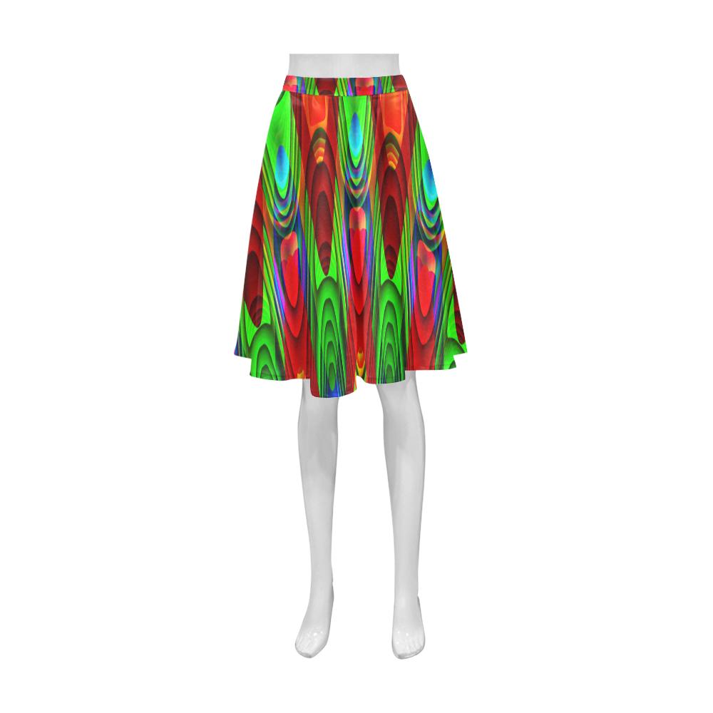 2D Wave #1B - Jera Nour Athena Women's Short Skirt (Model D15)