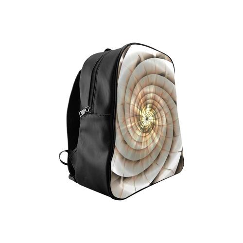 Spiral Eye 3D - Jera Nour School Backpack (Model 1601)(Medium)