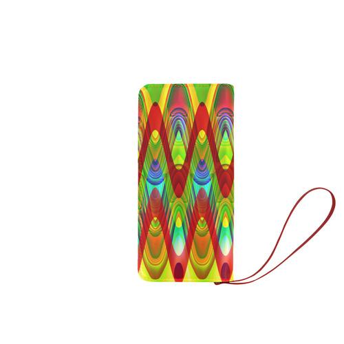 2D Wave #1A - Jera Nour Women's Clutch Wallet (Model 1637)