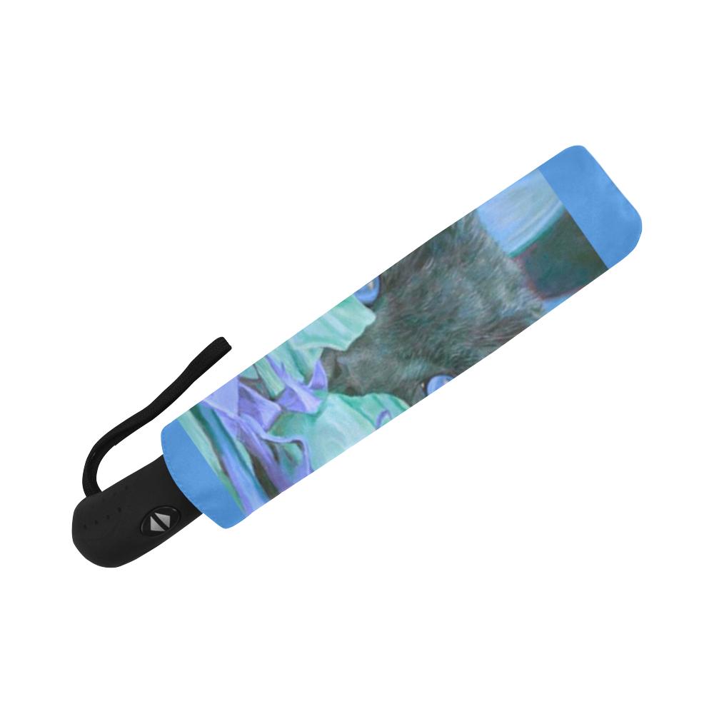 THE BLUE Auto-Foldable Umbrella (Model U04)