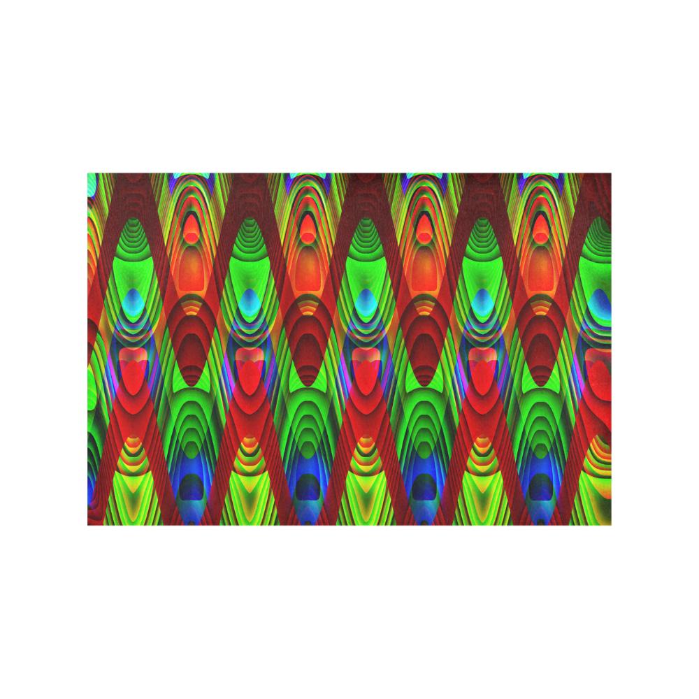 2D Wave #1B - Jera Nour Placemat 12'' x 18'' (Four Pieces)