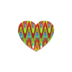 2D Wave #1A - Jera Nour Heart Coaster