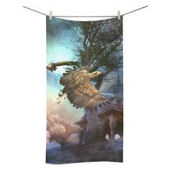 """Awesome flying eagle Bath Towel 30""""x56"""""""