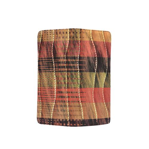 Batik Maharani #6 Vertical - Jera Nour Men's Clutch Purse (Model 1638)