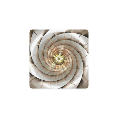 Spiral Eye 3D - Jera Nour Square Coaster