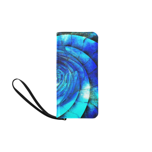 Galaxy Wormhole Spiral 3D - Jera Nour Women's Clutch Purse (Model 1637)