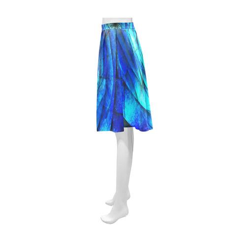 Galaxy Wormhole Spiral 3D - Jera Nour Athena Women's Short Skirt (Model D15)