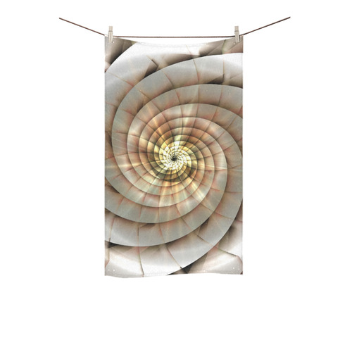 """Spiral Eye 3D - Jera Nour Custom Towel 16""""x28"""""""