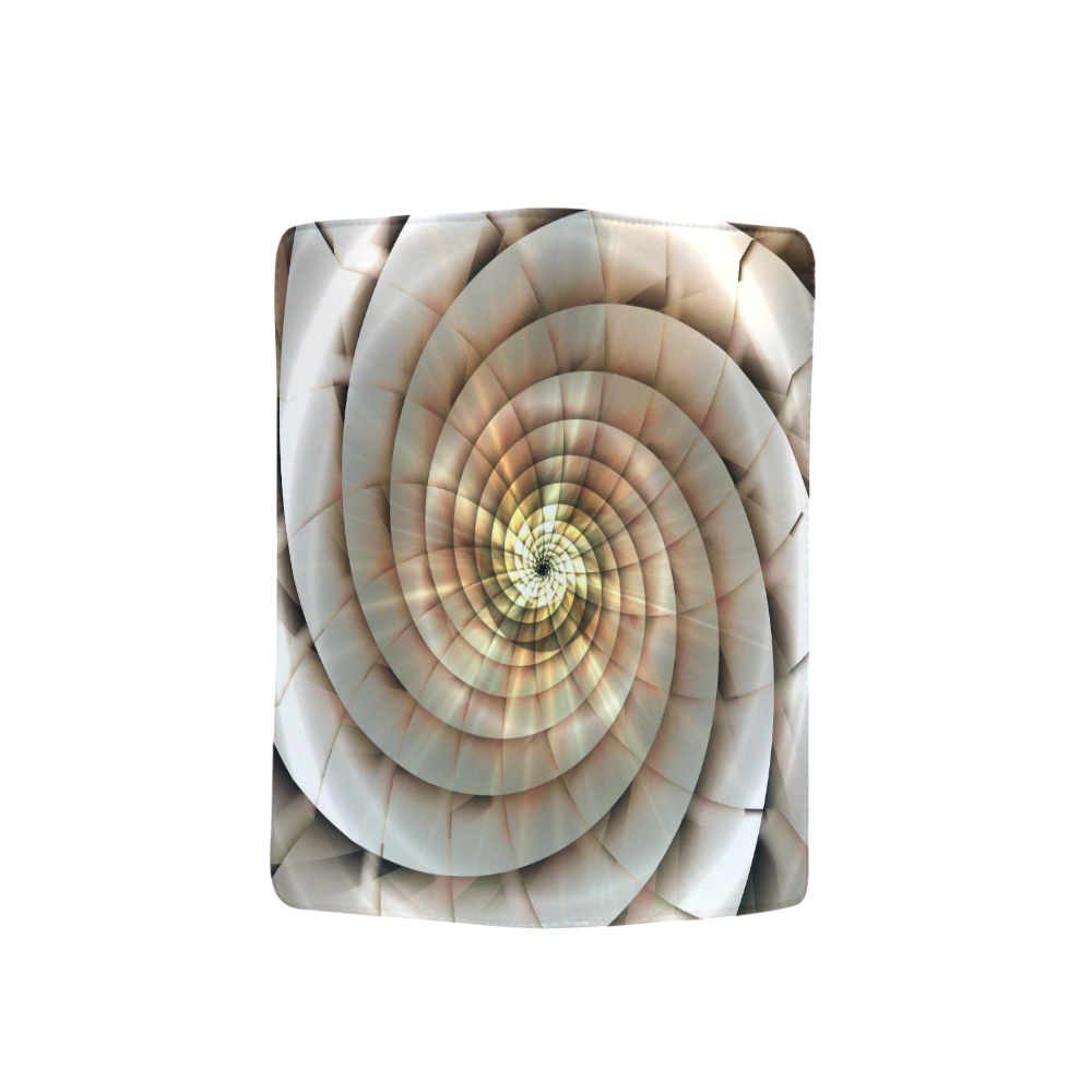 Spiral Eye 3D - Jera Nour Men's Clutch Purse (Model 1638)