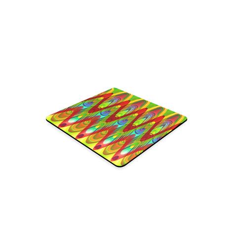 2D Wave #1A - Jera Nour Square Coaster