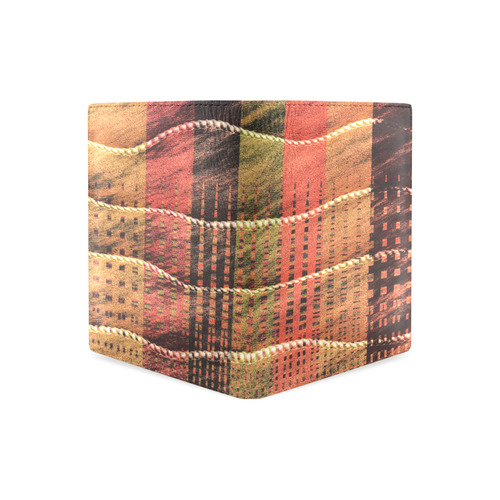 Batik Maharani #6 - Jera Nour Men's Leather Wallet (Model 1612)
