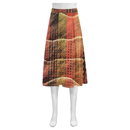 Batik Maharani #6 - Jera Nour Mnemosyne Women's Crepe Skirt (Model D16)