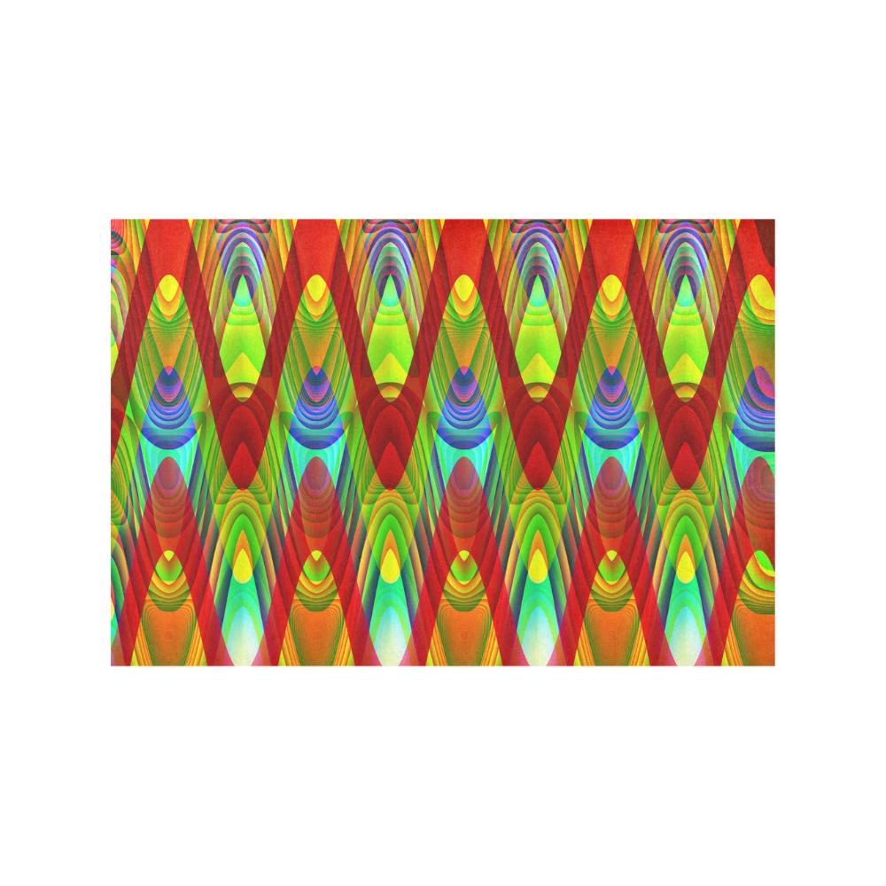 2D Wave #1A - Jera Nour Placemat 12''x18''