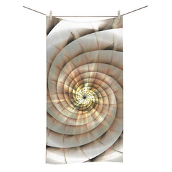 "Spiral Eye 3D - Jera Nour Bath Towel 30""x56"""