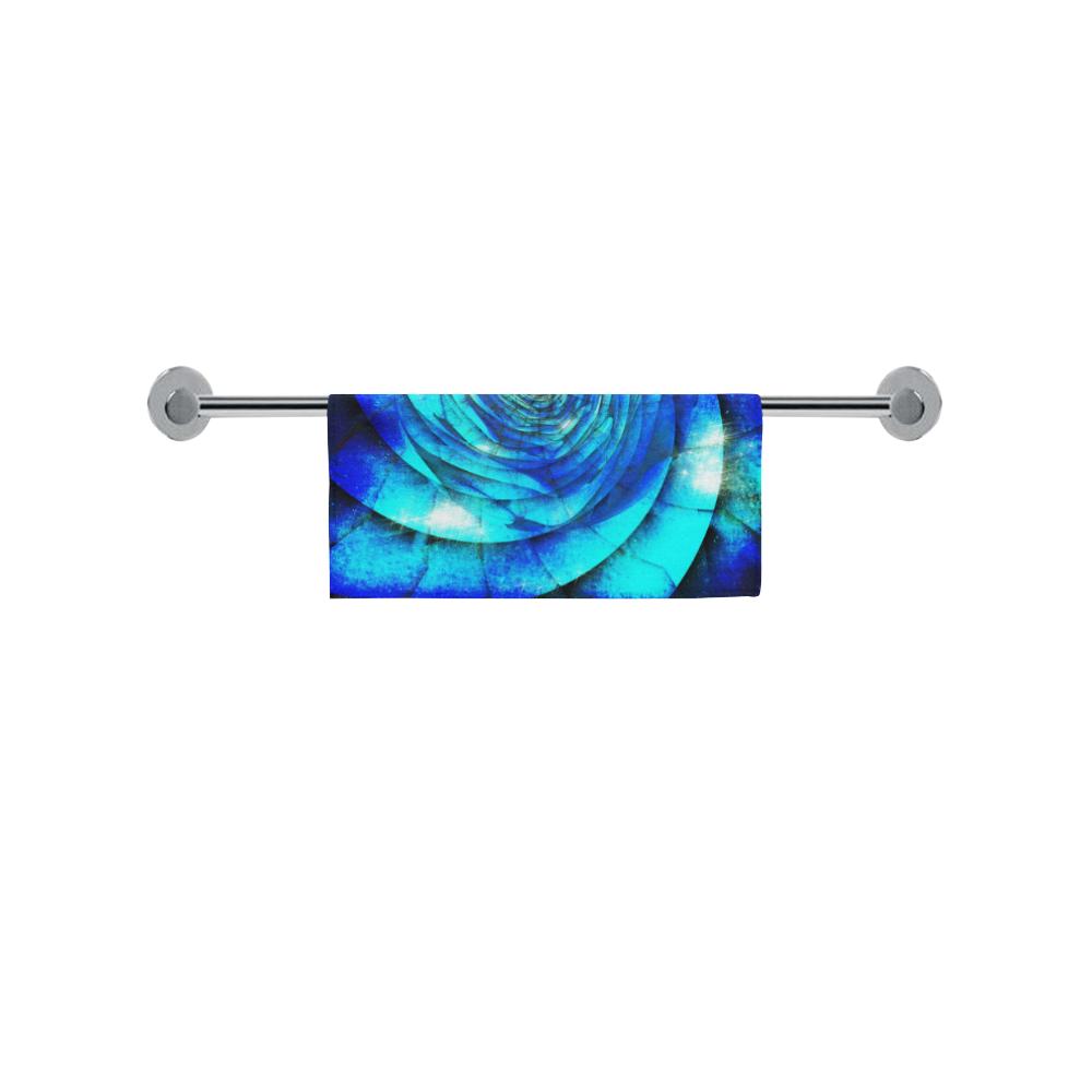 "Galaxy Wormhole Spiral 3D - Jera Nour Square Towel 13""x13"""