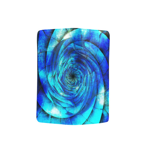 Galaxy Wormhole Spiral 3D - Jera Nour Men's Clutch Purse (Model 1638)