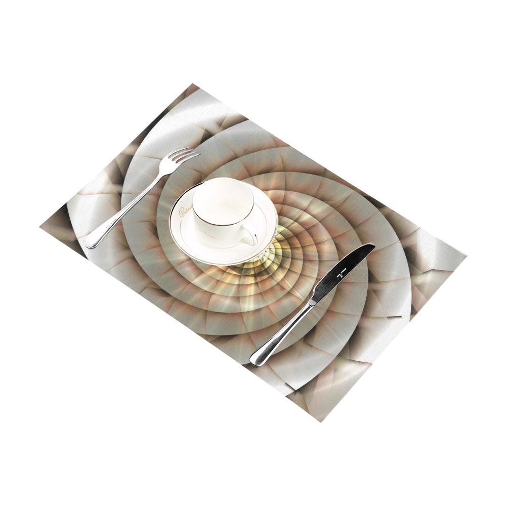 Spiral Eye 3D - Jera Nour Placemat 12'' x 18'' (Four Pieces)