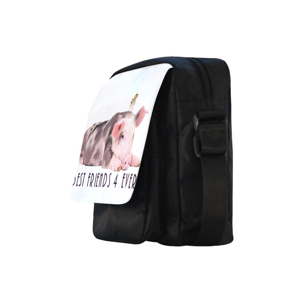 BESTFRIENDS Crossbody Nylon Bags (Model 1633)
