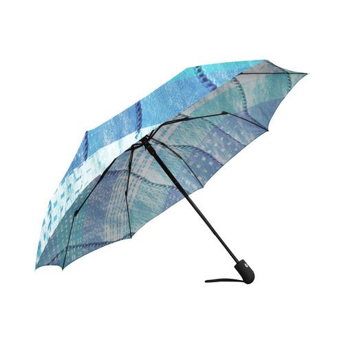 Batik Maharani #6 Vertical - Jera Nour Auto-Foldable Umbrella (Model U04)