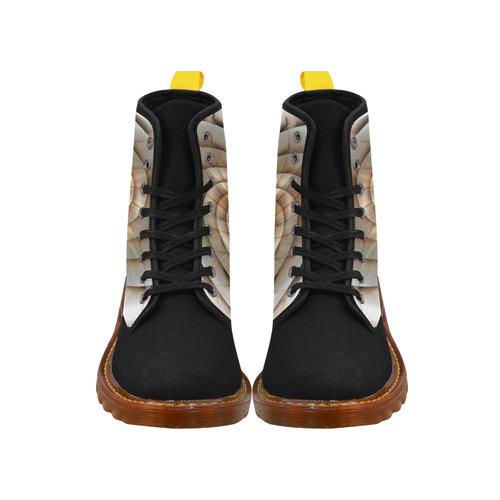 Spiral Eye 3D - Jera Nour Martin Boots For Women Model 1203H
