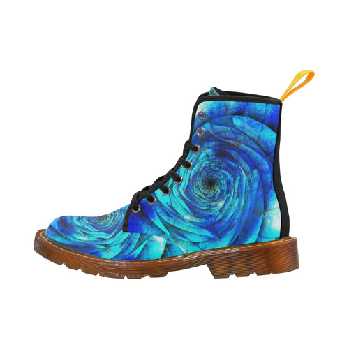 Galaxy Wormhole Spiral 3D - Jera Nour Martin Boots For Men Model 1203H