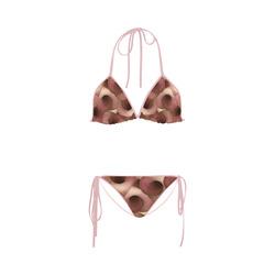 Apple Blossom Petals Custom Bikini Swimsuit