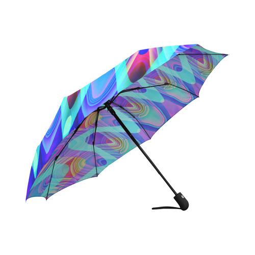 2D Wave #1A - Jera Nour Auto-Foldable Umbrella (Model U04)