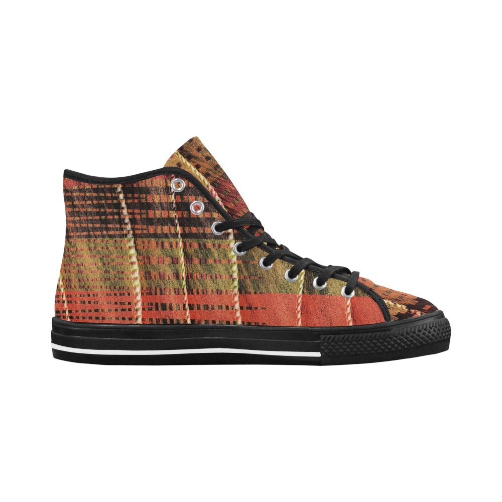 Batik Maharani #6 Vertical - Jera Nour Vancouver H Men's Canvas Shoes (1013-1)