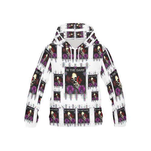 In The Dark 2 All Over Print Hoodie for Kid (USA Size) (Model H13)