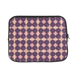 Purple Kaleidoscope Pattern Laptop Sleeve 11''