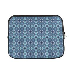 Sapphire Kaleidoscope Pattern Laptop Sleeve 11''