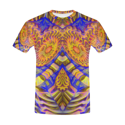 sd aadh All Over Print T-Shirt for Men (USA Size) (Model T40)