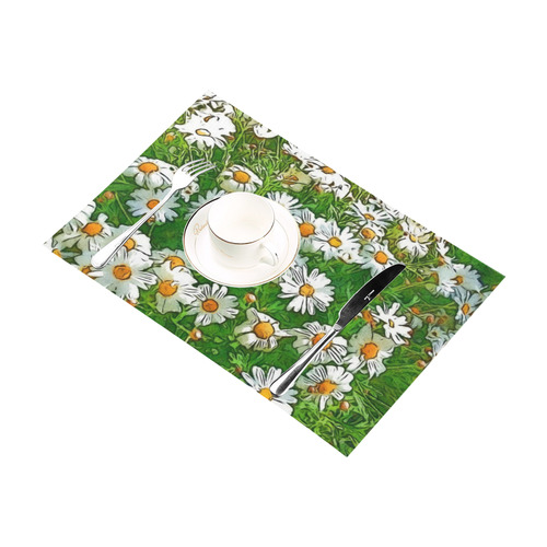 Floral ArtStudio 36A by JamColors Placemat 12'' x 18'' (Two Pieces)