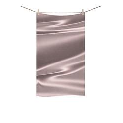 "Lilac satin 3D texture Custom Towel 16""x28"""