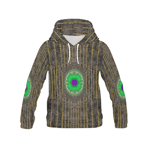 in the stars and pearls is a flower All Over Print Hoodie for Women (USA Size) (Model H13)