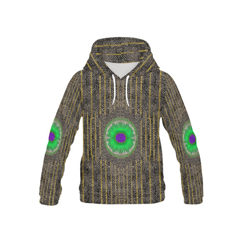 in the stars and pearls is a flower All Over Print Hoodie for Kid (USA Size) (Model H13)