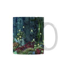 Underwater wold with mermaid White Mug(11OZ)