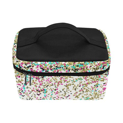 Confetti Cosmetic Bag/Large (Model 1658)
