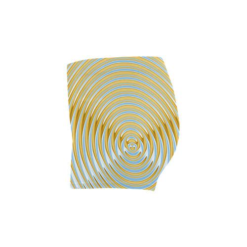 Gold Blue Rings Briseis Skinny Shorts (Model L04)