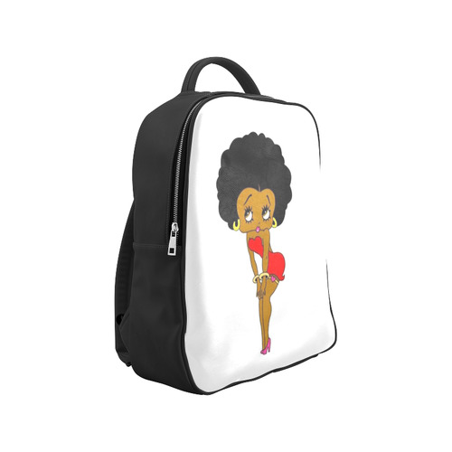 Black Betty Boop Popular Backpack (Model 1622)