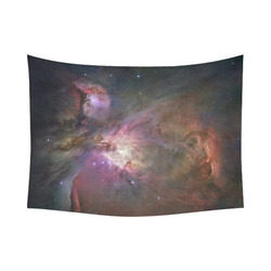 "Orion Nebula Hubble 2006 Cotton Linen Wall Tapestry 80""x 60"""
