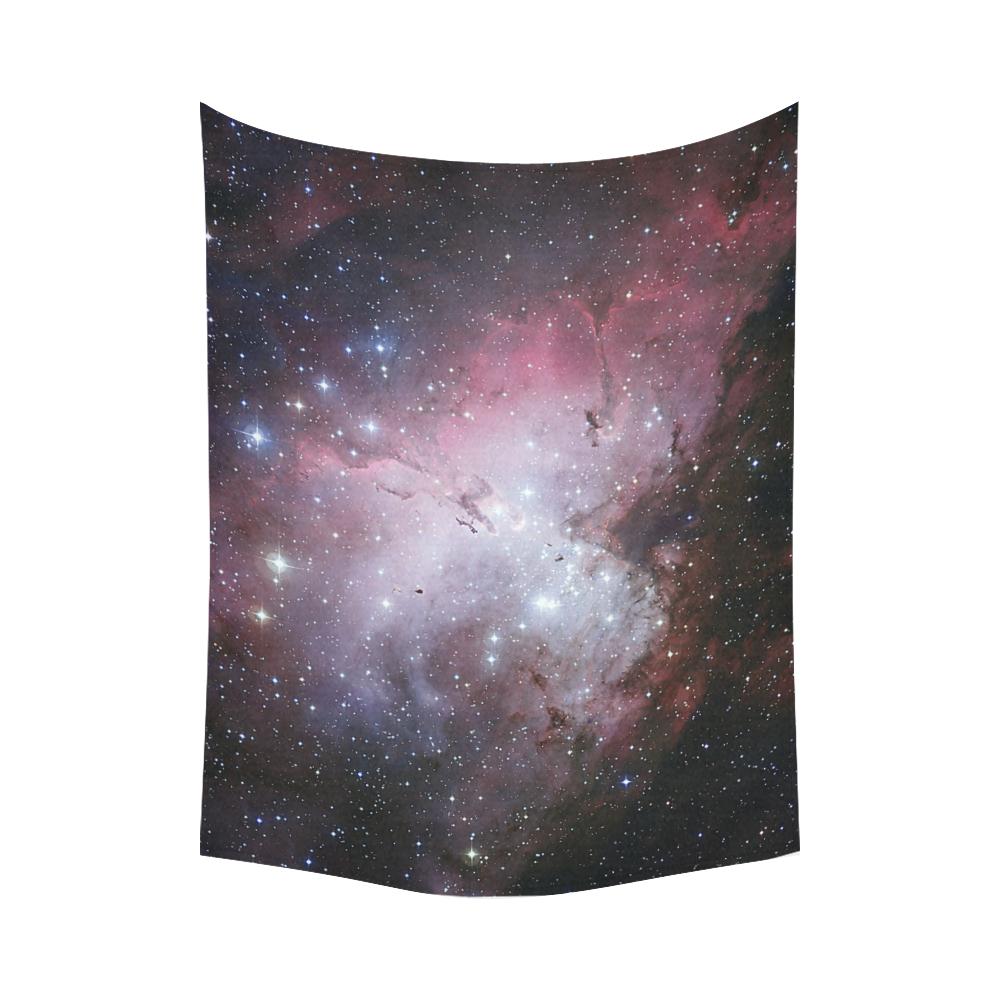 "Eagle Nebula Cotton Linen Wall Tapestry 80""x 60"""