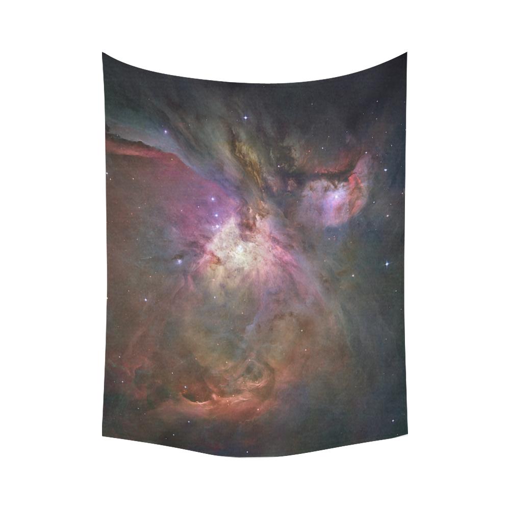 "Orion Nebula Hubble 2006 Cotton Linen Wall Tapestry 80""x 60"""