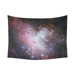 "Eagle Nebula Cotton Linen Wall Tapestry 80""x 60"""